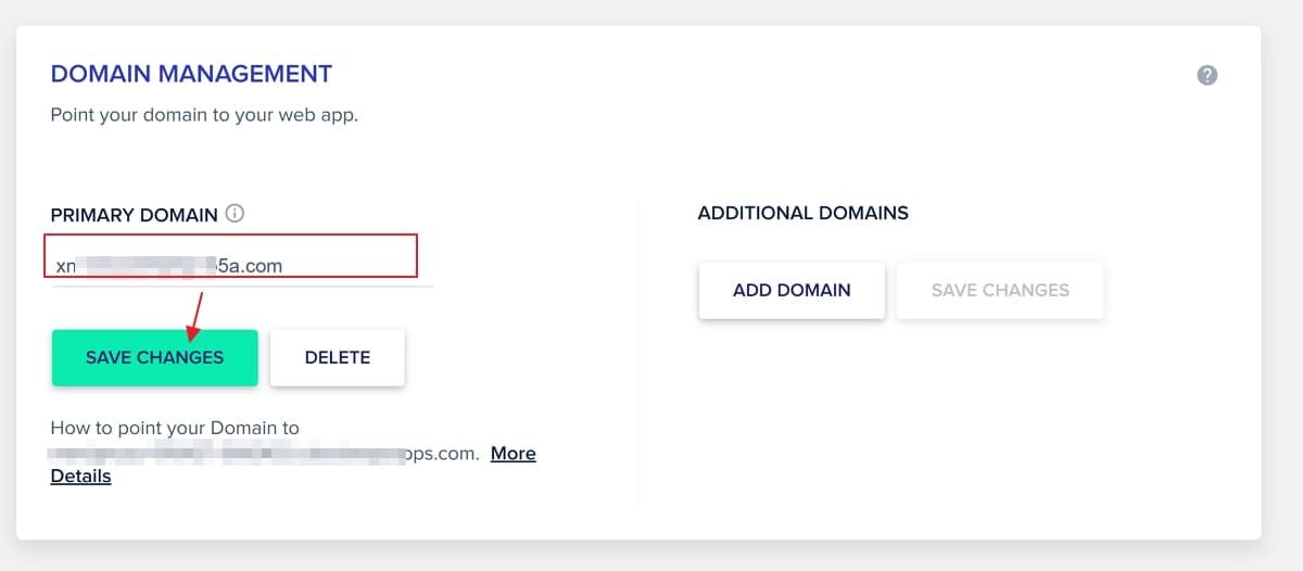 cloudways domain management